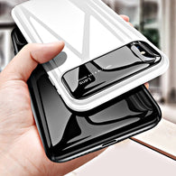 Ultra Thin Multi-Layer iPhone Case With Tempered Glass Rear Camera Lens Protector