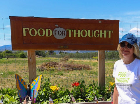 Food for Thought Garden Sign