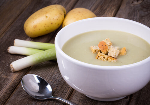 leek potato soup
