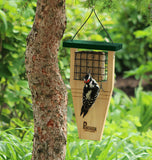 Tail Prop Suet Cake Feeder