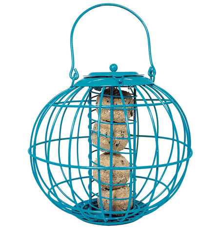 Globe Suet Ball Feeder Blue