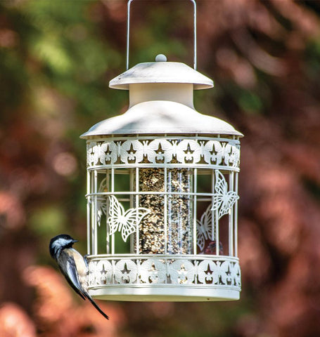 Decorative Squirrel Resistant Feeder
