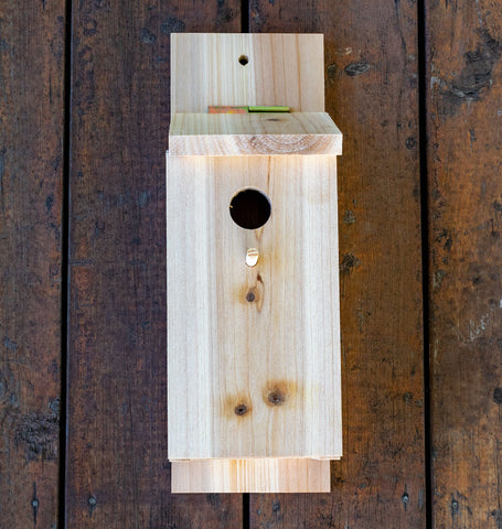 Wood Birdhouse DIY Kit