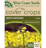 White Mustard Cover Crop Seeds