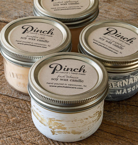 Pinch Soy Wax Candle