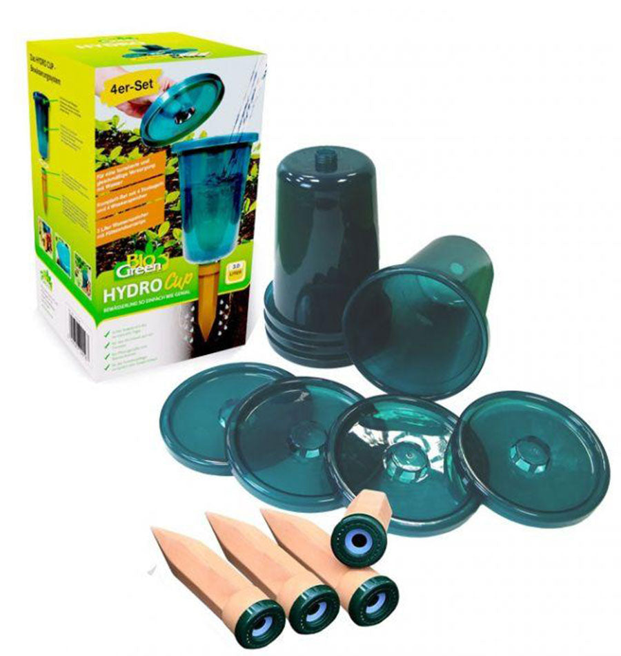 Image of Hydro Cup Watering System, Set of 4