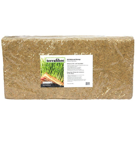 Terrafibre Hemp Grow Mat 10 x 20