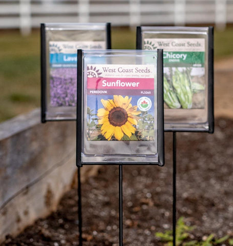 Weatherproof Seed Packet Markers