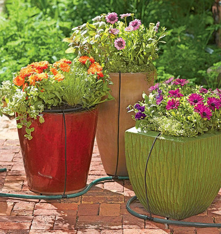 Snip-n-Drip for Pots and Planters
