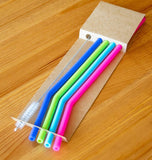 Silicone Drinking Straws - Narrow