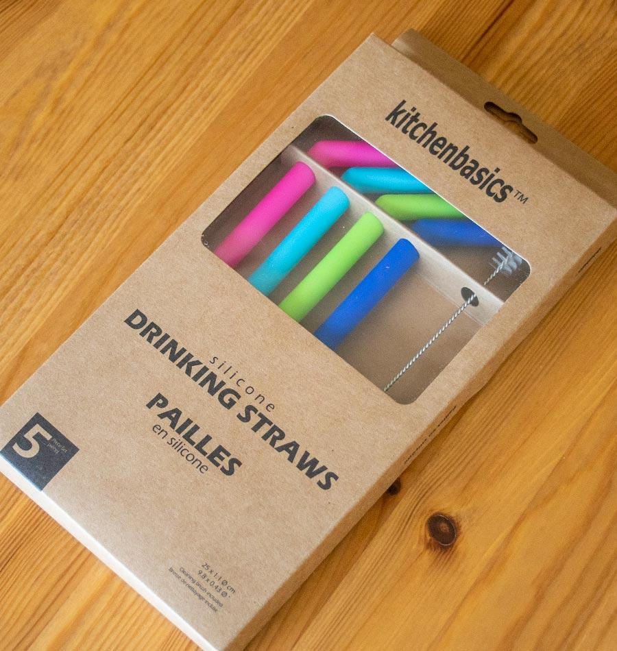 Silicone Drinking Straws - Thick