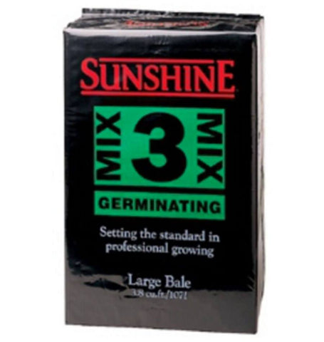 3 Sunshine Blend Seedling Mix Organic