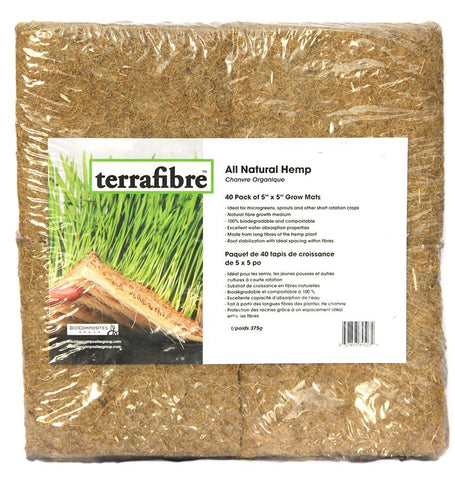 Terrafibre Hemp Grow Mats 5 x 5
