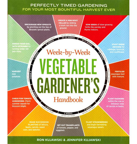 Book Week by Week Vegetable Gardener ZBK626 1