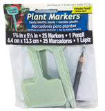 Plastic Plant Markers with Pencil