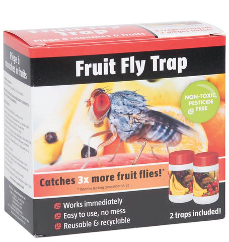 Fruit Fly Trap - 2 Pack