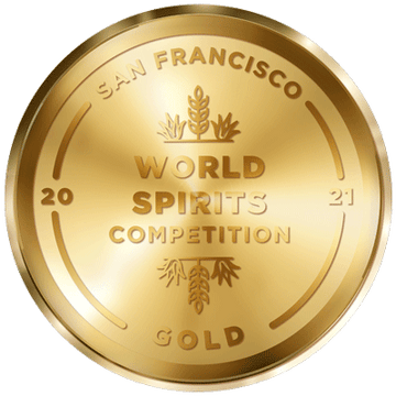 GOLD win at the San Francisco World Spirits Competition 2021