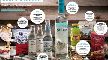 Altitude Gin stars in Craft Gin Club's January box!