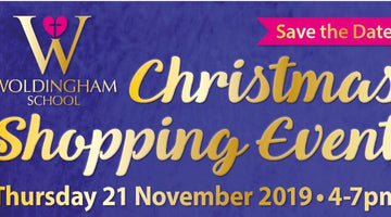 Woldingham School Christmas Shopping Event, Nov 21st 4-7PM