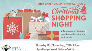 Christmas Shopping Night - 8th Nov