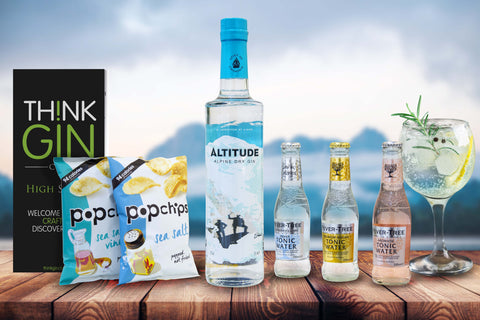 Think Gin Club - Altitude Gin and Fever Tree Tonics