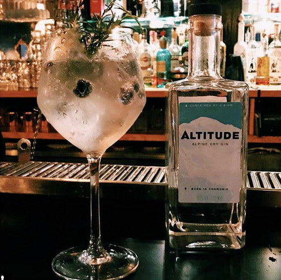 Altitude gin and tonic - one of our classic gin cocktails