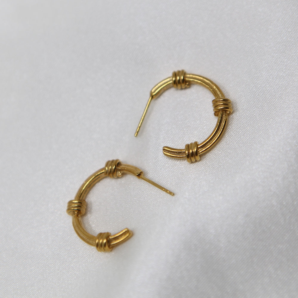 Antique Hoops