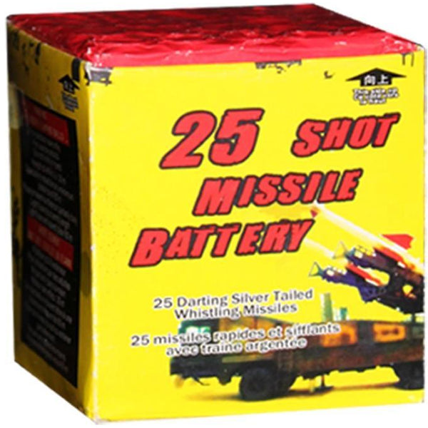 25 Shot Missile Battery