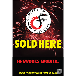 Competition Fireworks Sold Here