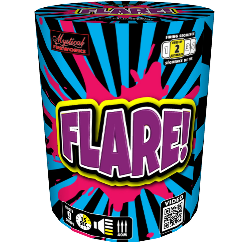 Flash!, Flicker!, Flare! 3 Pack
