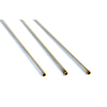 .030 Stainless Steel Buccal Tubing  will fit up to and including the wire size designated by the INSIDE diameter