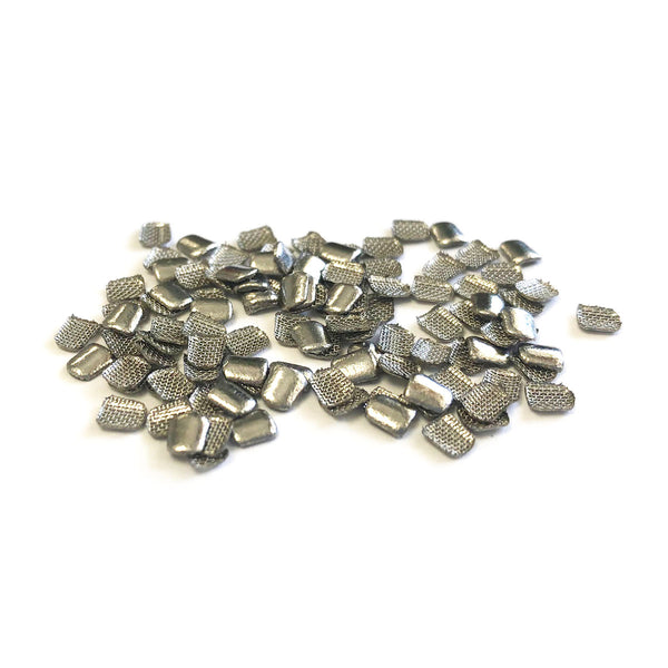 Our Lingual Retainer Pads are machined formed to the correct size to make lingual retainers.