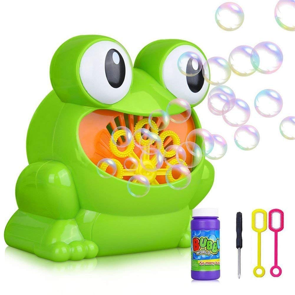 Automatic Frog Bubble Machine