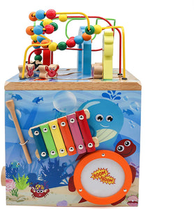 Under The Sea Adventures, Deluxe Activity Wooden Maze Cube