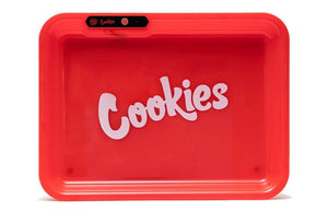 "GlowTray x Cookies ""RED"" LED Rolling Tray - Kronico Limited"