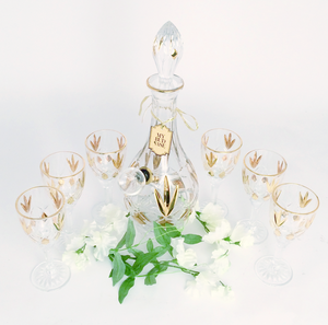 'My Bud Vase' Crystal Host Set - Kronico Limited