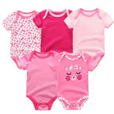 Baby Romper 5 PC Set - NewBorn Toddler Boys/Girl