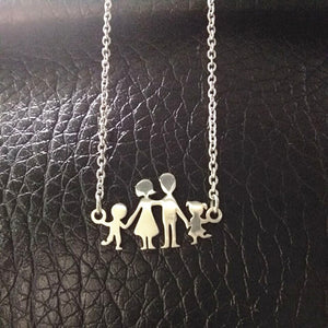 Stainless Steel Girls Boys Necklace