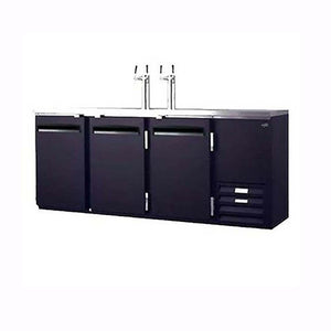 Fogel Draft Beer Dispenser, Black Steel Exterior