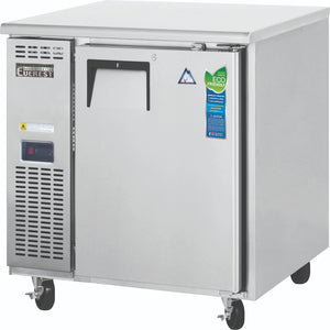 Everest Stainless Steel Swing Solid One Doors Undercounter Freezer Condensing Unit