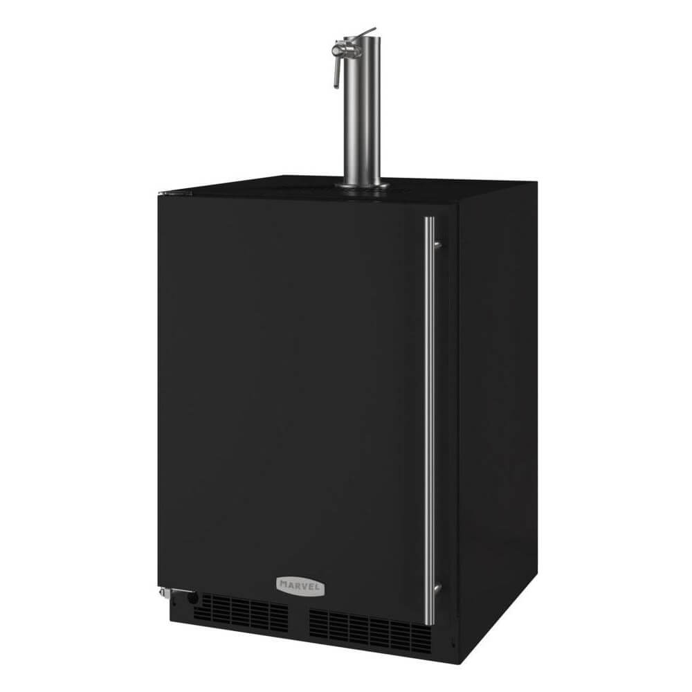 Marvel 24 Inch Built-in Indoor Beer Dispenser, 5.7 Cu. Ft. Capacity