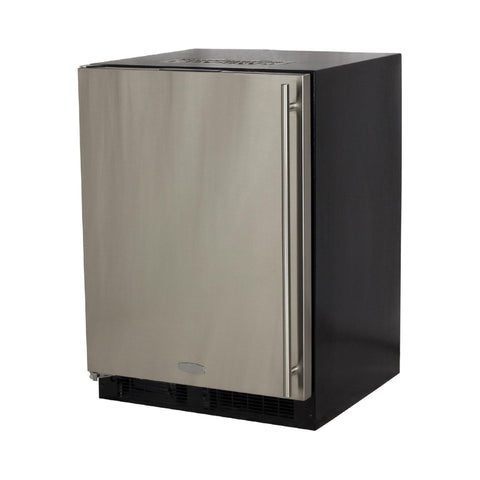Marvel 24 Inch Built-in Outdoor Stainless Steel Beer Dispenser, 5.7 Cu. Ft. Capacity