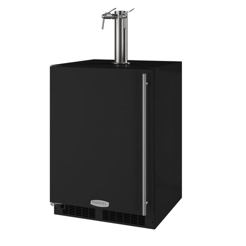 Image of Marvel 24 Inch Built-in Indoor Black Wine Dispenser, 5.7 Cu. Ft. Capacity