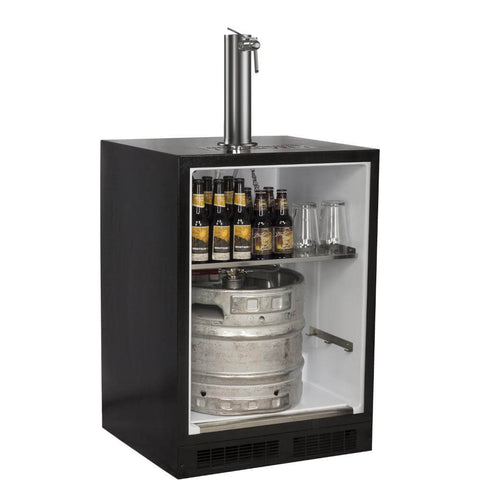 Marvel 24 Inch Built-in Indoor Panel Ready Wine Dispenser, 5.7 Cu. Ft. Capacity