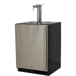 Marvel 24 Inch Built-in Indoor Stainless Steel Wine Dispenser, 5.7 Cu. Ft. Capacity