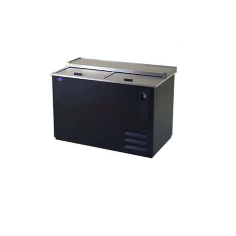 Image of Fogel Bottle Cooler Black Steel Exterior