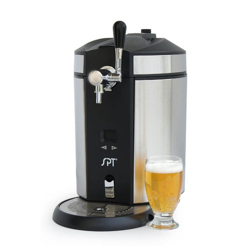 Image of Sunpentown Stainless Steel Mini Kegerator & Dispenser (Model: BD-0538)