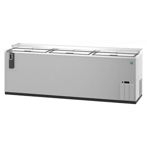 Hoshizaki CC95-S Three Section Stainless Steel Back Bar Bottle Cooler (Model: CC95-S)