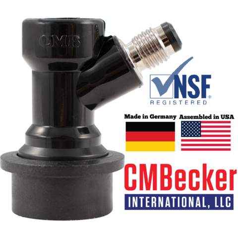 CM Becker Ball Lock Disconnect Beverage Out - Flare KEG720