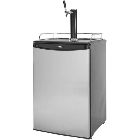Image of Cal Flame 20-Inch Beer Tap Stainless Steel Kegerator (Model: BBQ09843B)